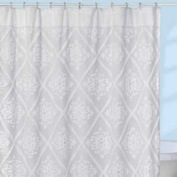 Creative Bath Belle Fabric Shower Curtain
