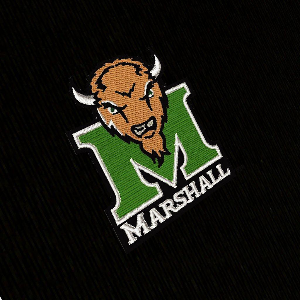 Men's Antigua Marshall Thundering Herd Delta 1/4-Zip Pullover