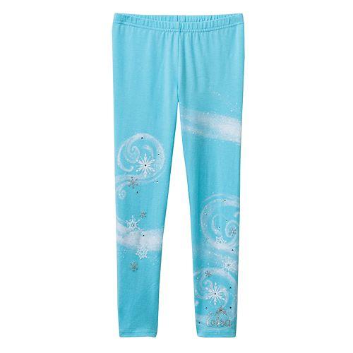 9ddbac0fd84fc Disney Frozen Elsa Snowflake Leggings by Jumping Beans® - Girls 4-7