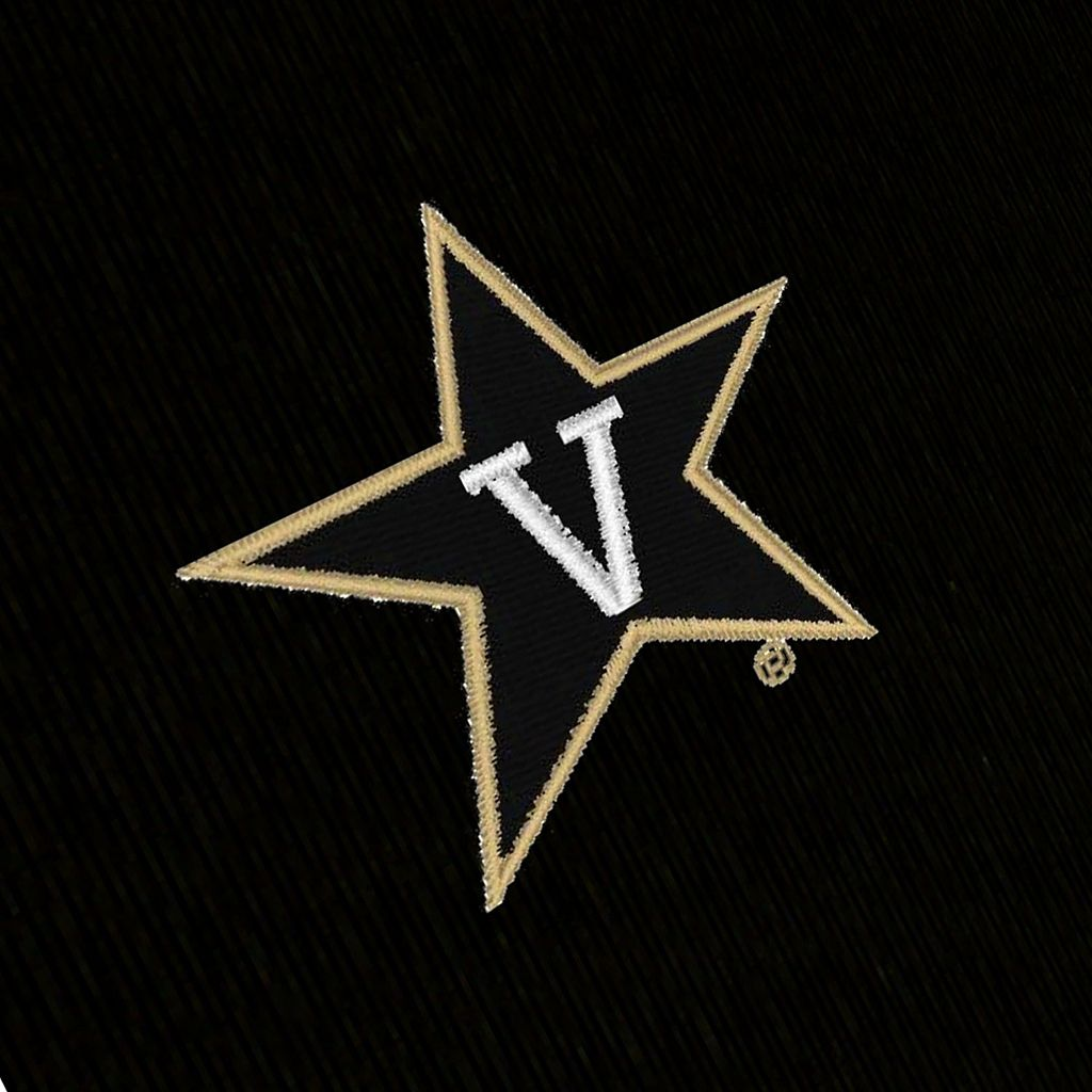 Men's Antigua Vanderbilt Commodores Delta 1/4-Zip Pullover