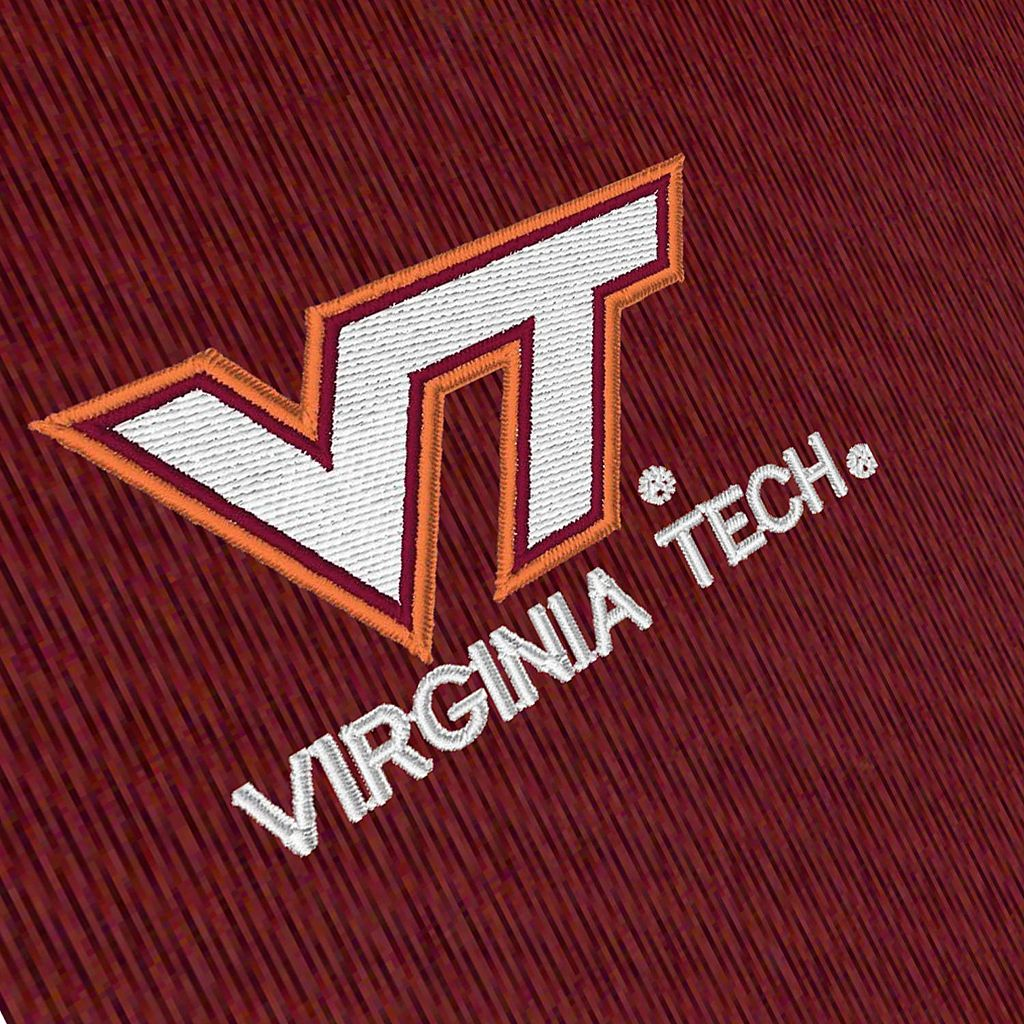 Men's Antigua Virginia Tech Hokies Delta 1/4-Zip Pullover