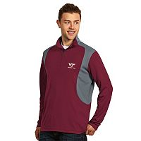 Men's Antigua Virginia Tech Hokies Delta 1/4-Zip Pullover