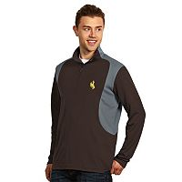 Men's Antigua Wyoming Cowboys Delta 1/4-Zip Pullover
