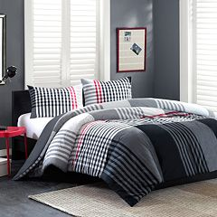 INK+IVY Blake Duvet Cover Set