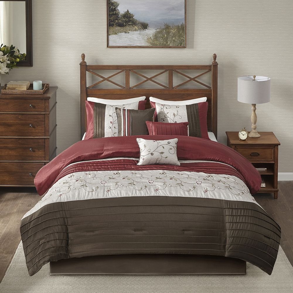 comforter set. park belle pc comforter set