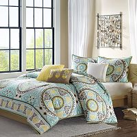 Madison Park Bali 6 pc Duvet Cover Set