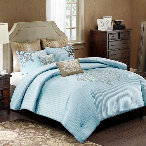 Comforters bedding bed bath kohl 39 s for Baltic linen maison 8 pc comforter set