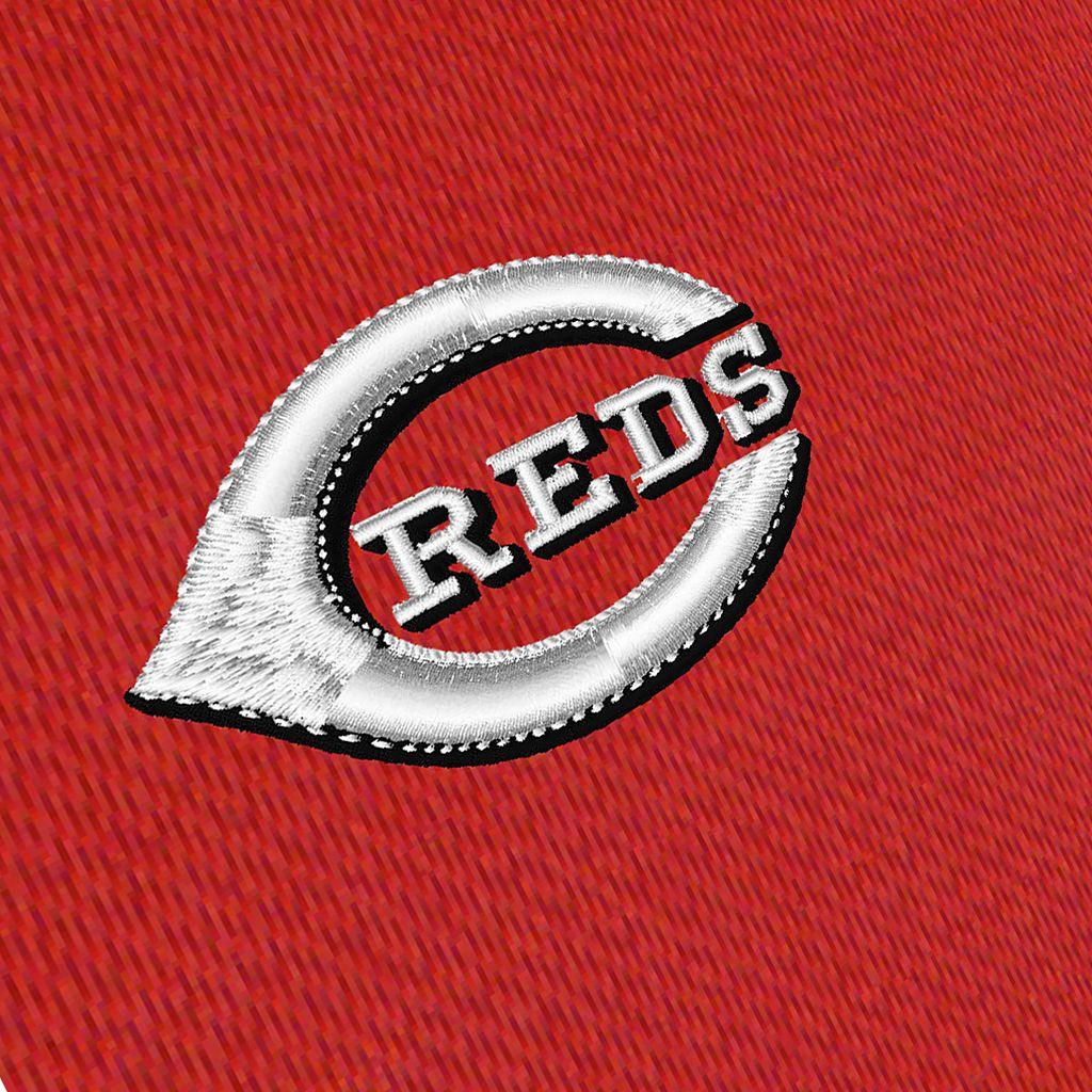 Men's Antigua Cincinnati Reds Delta 1/4-Zip Pullover