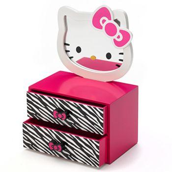 695fcc8b7 Hello Kitty® Jewelry Box & Mirror Set
