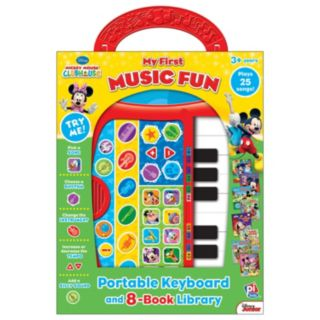 Disney Mickey Mouse Clubhouse My First Music Fun Portable Keyboard and Library Set