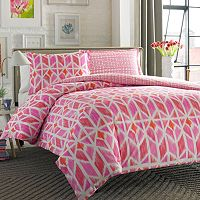 City Scene Grayson Reversible Duvet Cover Set