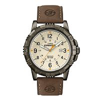 Timex Men's Expedition Rugged Field Leather Watch