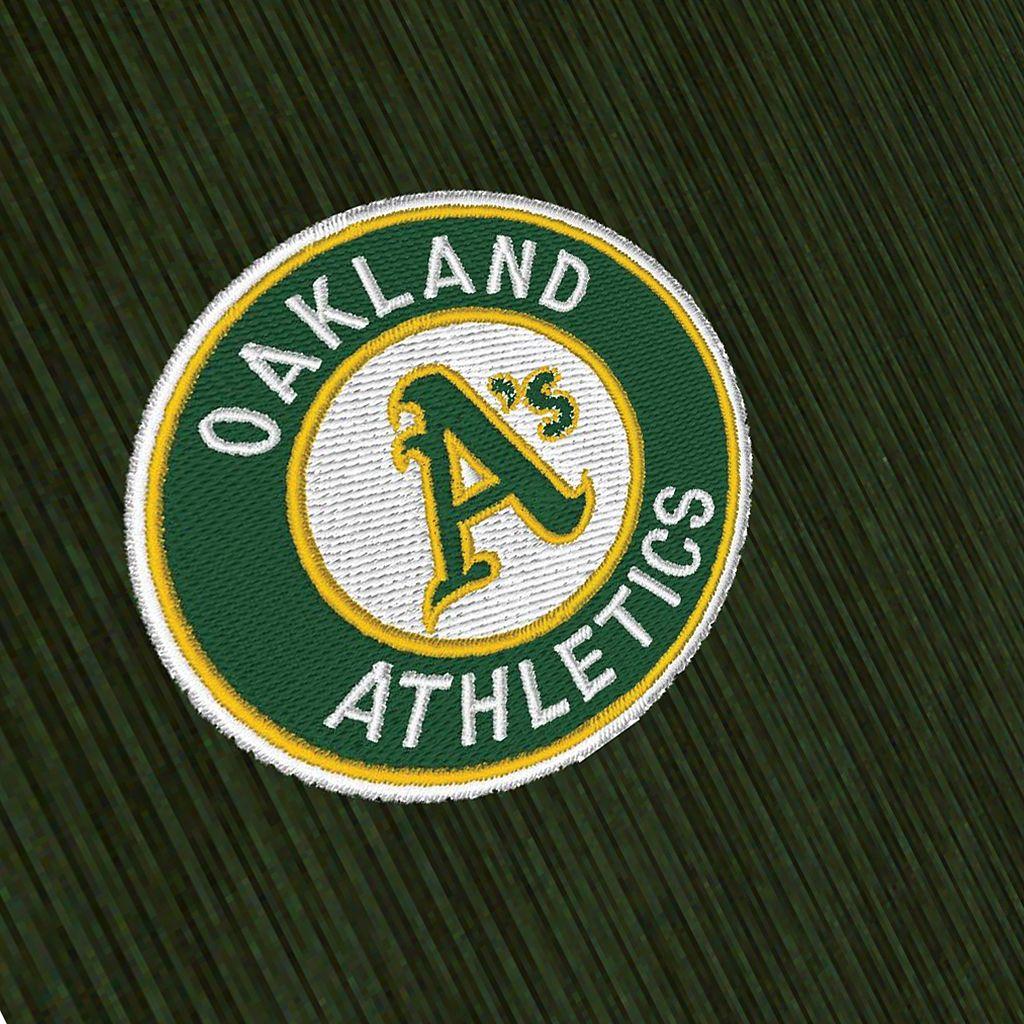Men's Antigua Oakland Athletics Delta 1/4-Zip Pullover