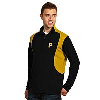 Men's Antigua Pittsburgh Pirates Delta 1/4-Zip Pullover