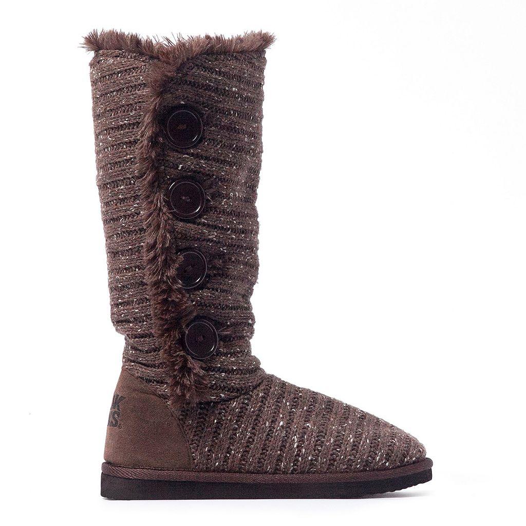 MUK LUKS Malena Women's Speckled Boots