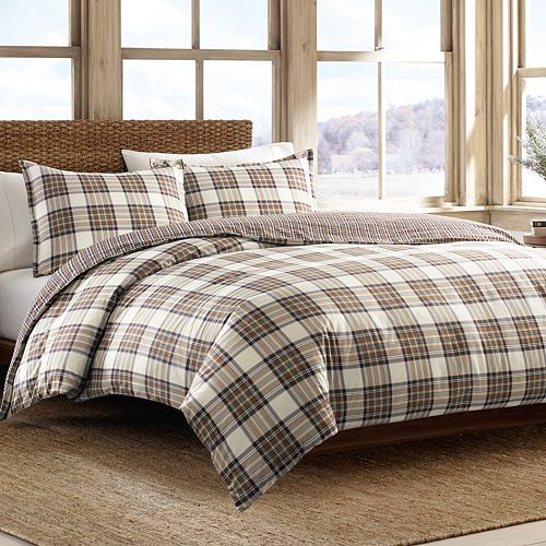 Eddie Bauer Edgewood Reversible Duvet Cover Set