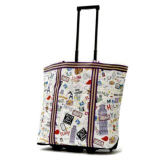 Olympia Cosmopolitan Wheeled Shopping Bag