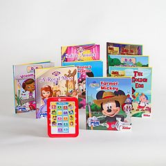 Disney Junior Me Reader Electronic Reading Pad & Library Set