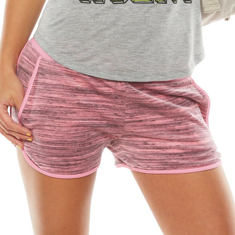 Juicy Couture Space Dyed Velour Shorts Women S