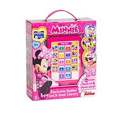 Disney Mickey Mouse & Friends Minnie Mouse Me Reader Electronic Reading Pad & Library Set