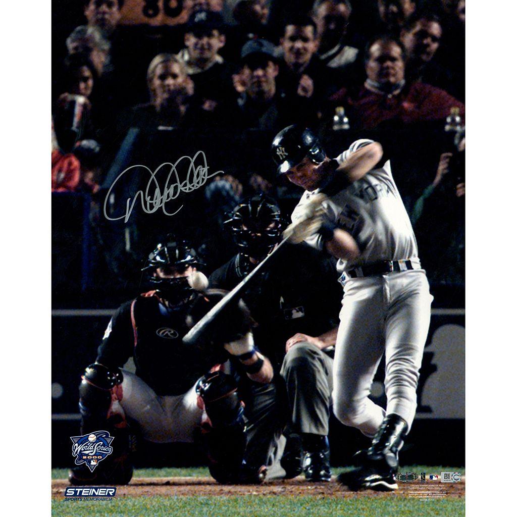 Steiner Sports New York Yankees Derek Jeter 2000 World Series Lead-Off Home Run 16'' x 20'' Signed Photo
