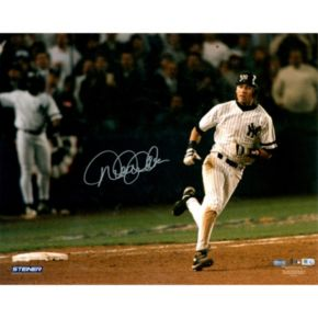 Steiner Sports New York Yankees Derek Jeter Rounding Bases After 1996 ALCS Jeffrey Maier Home Run 16'' x 20'' Signed Photo