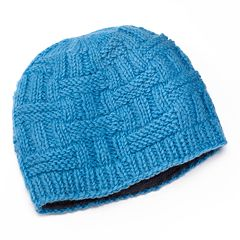 SIJLL Ribbed Wool Beanie Hat