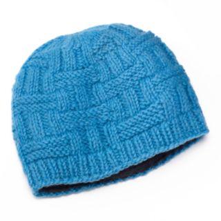 SIJLL Ribbed Wool Beanie Hat