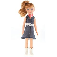 Paradise Horses Cowgirl Denim Doll by