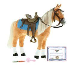 Paradise Horses Western Palomino Horse by