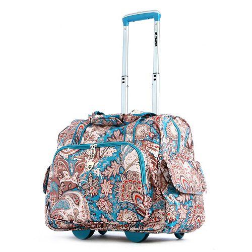 15 Inch Laptop Wheeled Overnight Travel Bag