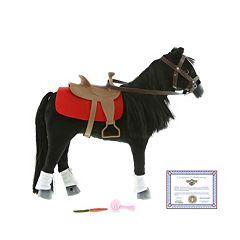 Paradise Horses Western Black Horse by