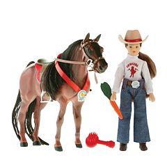 Paradise Horses English Doll & Horse Set by