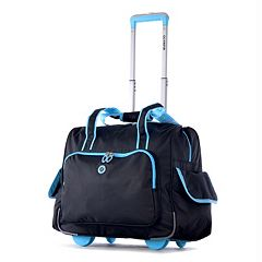 Olympia Rave 15-Inch Laptop Wheeled Overnighter Bag