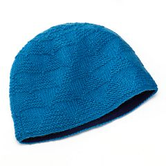 SIJLL Pyramid Knit Wool Beanie Hat