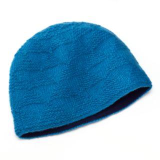 SIJLL Pyramid Knit Wool Beanie Hat