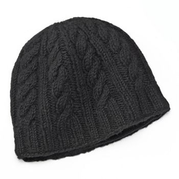9ca50c9c4 SIJJL Braid Cable-Knit Wool Beanie Hat
