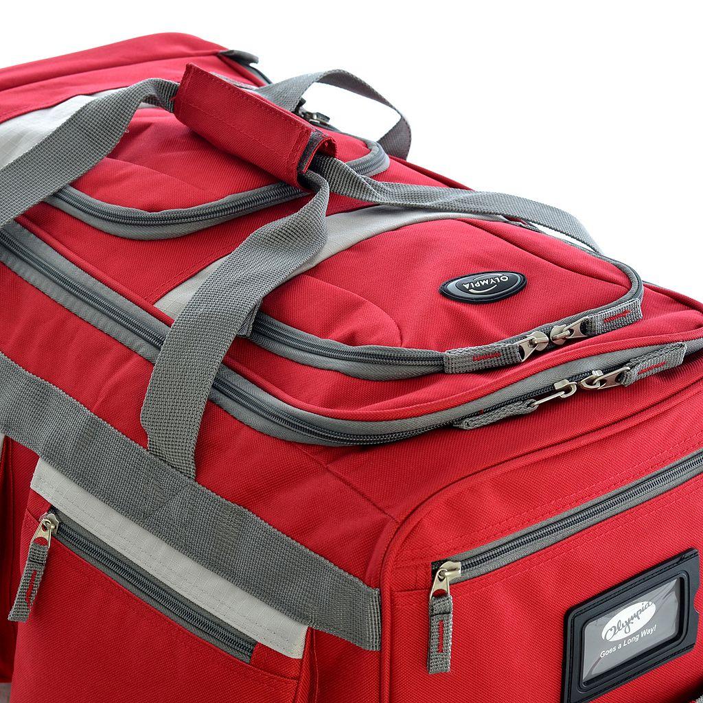 Olympia 26-Inch Rolling Duffel Bag