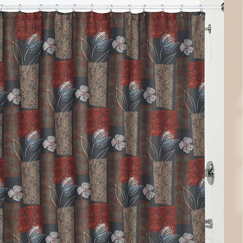 Creative Bath Borneo Fabric Shower Curtain