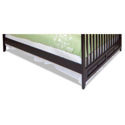 Child Craft London Euro Mini Crib Twin-Size Bed Conversion Rails