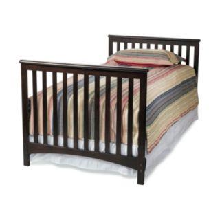 Child Craft London Euro Mini 2-in-1 Convertible Crib and Mattress