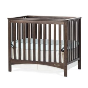 Child Craft London Euro Mini 2-in-1 Convertible Crib and Mattress
