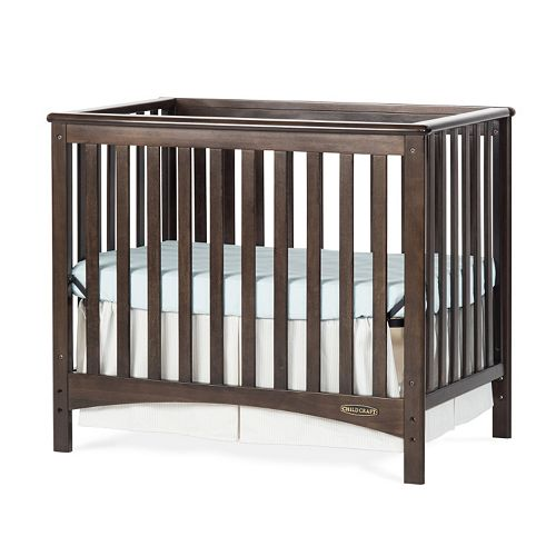 Child Craft London Euro Mini 2 In 1 Convertible Crib