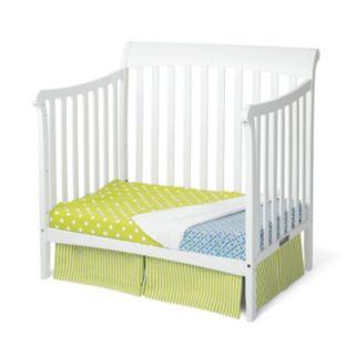 Child Craft Ashton Mini 4-in-1 Convertible Crib and Mattress
