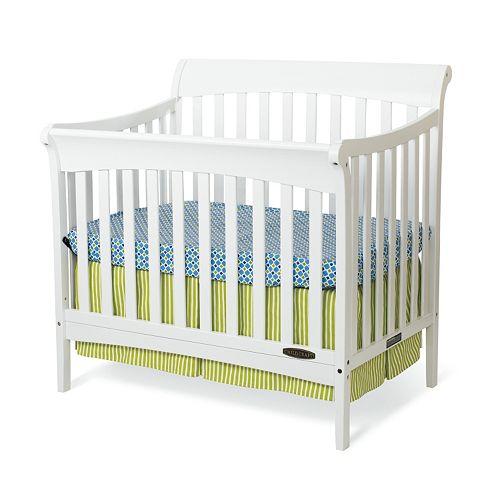 Child Craft Ashton Mini 4 In 1 Convertible Crib Amp Mattress