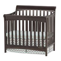 Child Craft Ashton Mini 4-in-1 Convertible Crib & Mattress