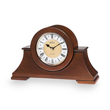 Bulova Cambria Wood Musical Mantel Clock - B1765