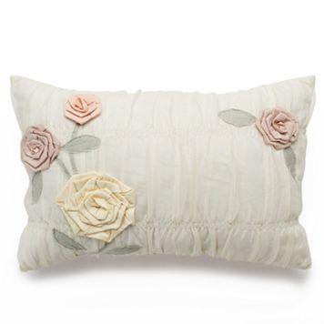 LC Lauren Conrad Lollipop Layered Rope Throw Pillow
