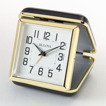 Bulova Reliable II Travel Alarm Clock - B6112