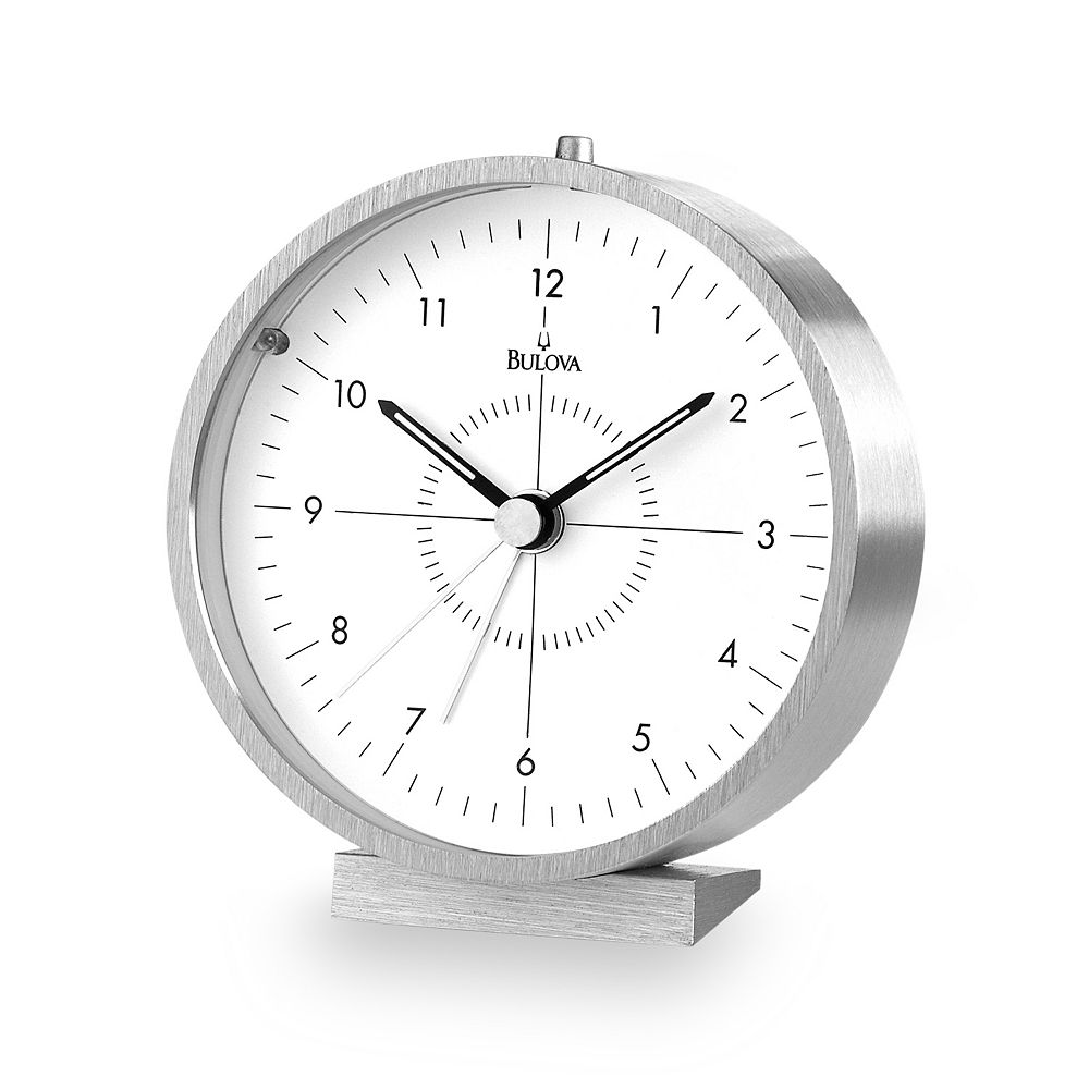 Bulova Flair Table Clock - B6844